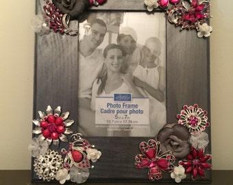5x7 Embellished photo frame
