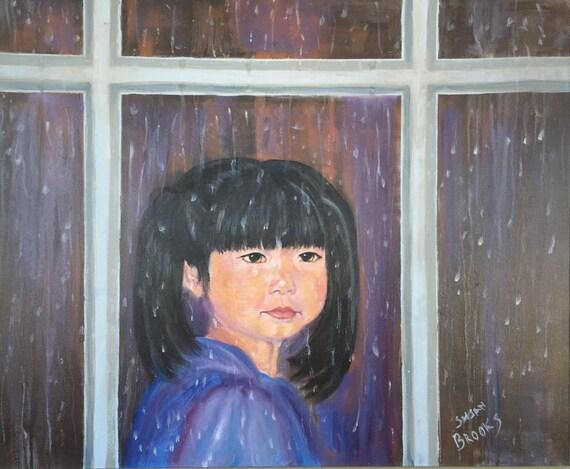 Looking At The Rain