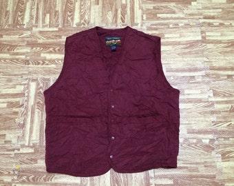 Vintage HIGH SIERRA Vest Medium Size