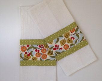 Kitchen Towel - Tea Towel - Botanic tea Towel  - Dish Towel - Kitchen Dish Towel - Bridal Shower Gift