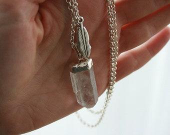 Bergkristall Kette