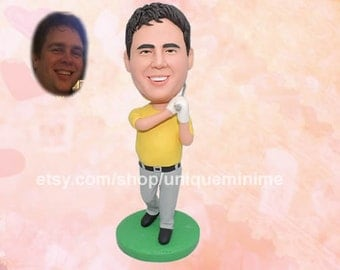 Personalized Bobblehead dolls , Gift for Him, Gift Idea, Bobblehead dolls , Custom Gift for Him, Valentine's Day gift