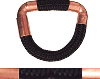 And copper rope bracelet