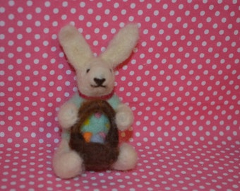 Needle Felted Rabbit  :-)