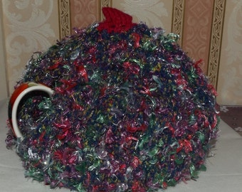 Large Tea Cosy, Hand knitted to keep your tea hot, Ideal Housewarming Gift, Christmas, Gift,