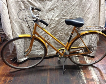 Vintage Raleigh Bicycle Womens Touring Bike - Retro