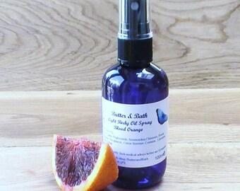 Citrus Körperspray mit Blut Orange ätherisches Öl Vegan Duschöl 100ml
