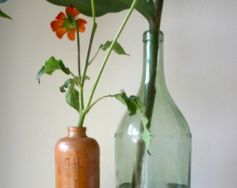 Bols Genever Clay Bottle/Vase