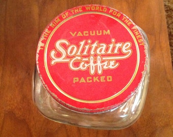 Solitaire Coffee Jar