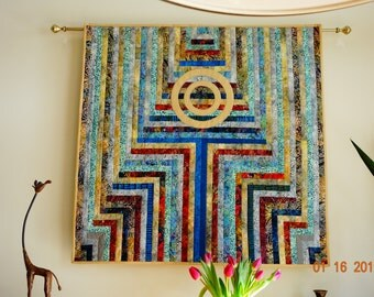 Arrow quilted wallhanging