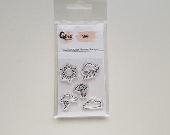 Clear Stamps_ mini _ rain _ 014