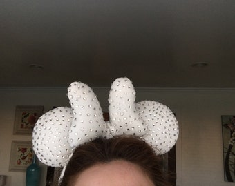 All rhinestoned ears