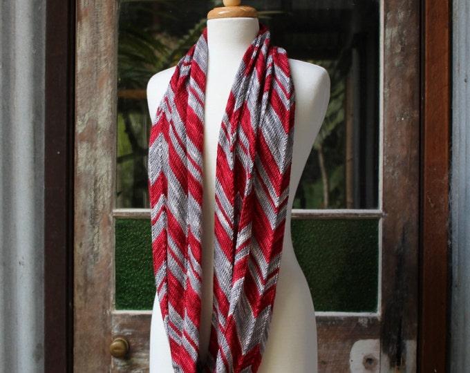 Featured listing image: Yarn & Pattern Kit - 'Big Zig Loop Cowl' fingering/ 4 ply 100% Merino - 'Original' colourway.