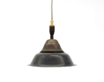 Lamp Design K81, hanging lamp, lighting, industrial, unique lighting, black, Beleuchtung, Pendelleuchte, Industriel, Industriestil, VLO