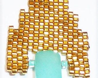Mayan Gold Earrings Kit