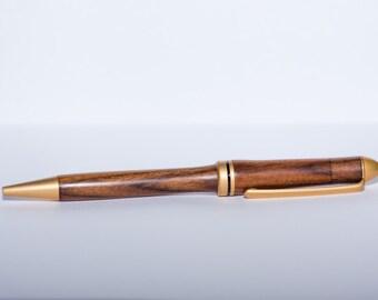 Rich walnut European style pen