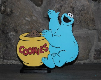 SESAME STREET Cookie Monster Table Stand