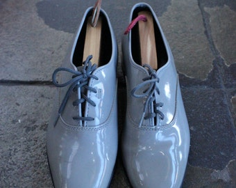 Vintage Gray Dress Shoes