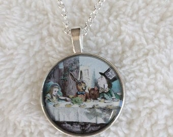 Alice in Wonderland Tea Party Necklace