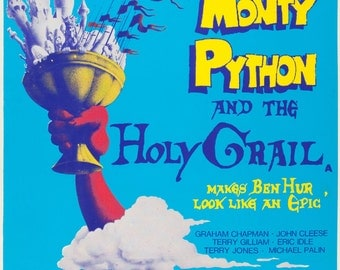Monty Python & The Holy Grail Movie POSTER Rare