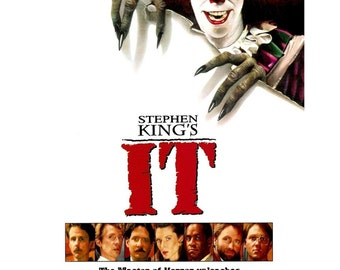 IT Movie Poster Steven King