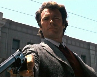 Dirty Harry 1971 Drama/Thriller Clint Eastwood Movie POSTER
