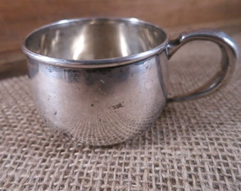 Sterling Silver Baby Cup/ Lunt Co. Sterling