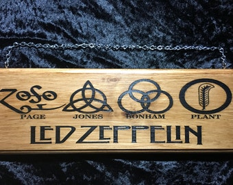 Led Zeppelin Sign