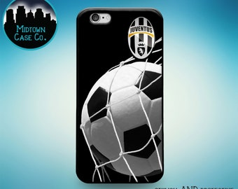 Juventus Football Club FC Soccer Ball Net Rubber Case for iPhone 6S, iPhone 6S Plus, iPhone 6, iPhone 6 Plus, iPhone 5S, iPhone 5, iPhone 5C