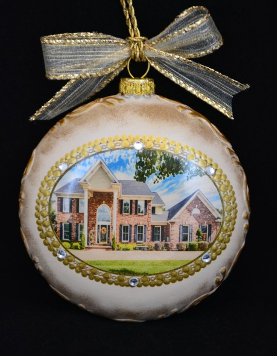 personalized christmas ornaments new home ornament personalized ornamentphoto 11867
