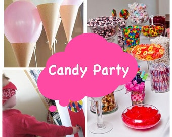 Candy Party Plans