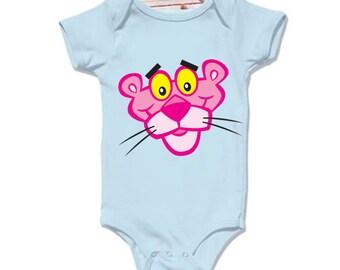 LoNyatanee Pink Panther Onesie Baby Onesie Bodysuit Kids Clothing