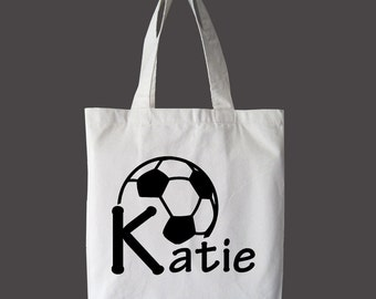 Soccer Bag, Personalized Soccer bag, Soccer tote, gym bag, Soccer gifts, sports bag/tote, custom Soccer bag, sports bag