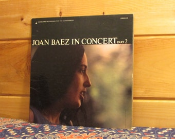 Joan Baez - Joan Baez In Concert Part 2 - 33 1/3 Vinyl Record