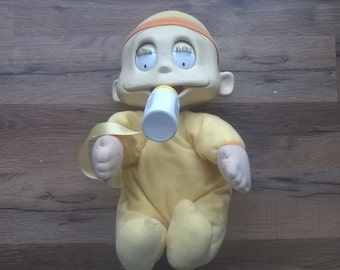 Rugrats Dill Pickles Doll - Large Animation Doll Talks, Moves, Etc. Vintage