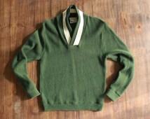 Forest Green Utah Woolen Mills Sweater