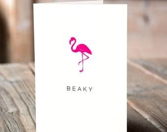 Beaky Greeting Card