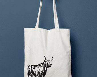 Love Highlands Tote Bag