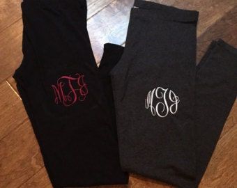 Monogrammed Sweatpants