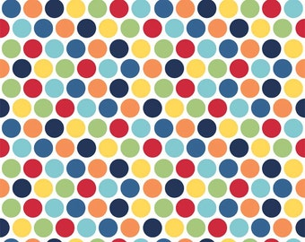 Pieces of Hope Multi Dot Fabric by Riley Blake C3061 C3404