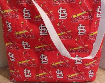 St. Louis Cardinal's Baseball Reusable Grocery / Shopping Bag / Tote