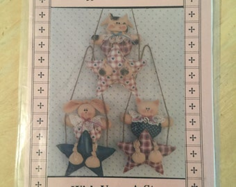 Wish Upon A Star Cow, Cat, Bunny and Star Sewing Pattern C29