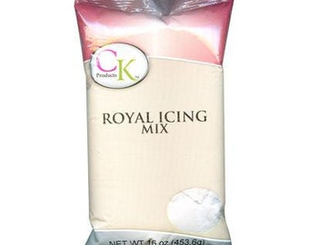 White Royal Icing Mix 1lb