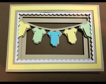 Baby shower invitation (boy or girl)