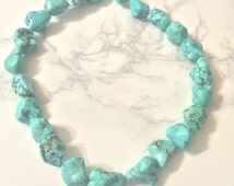 Reconstituted Turquoise Beads