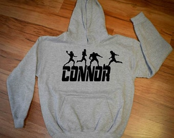 Personalized Football Hoodie - Name of your choice