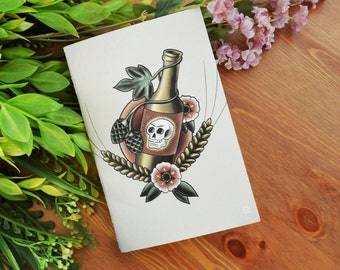 Beer Tattoo Flash Art Journal