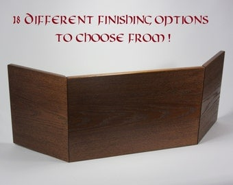 Hardwood DM Screen for Dungeons and Dragons, and Other Tabletop Games. DND, Pathfinder, Game Master, Dungeon Master, Dungeons & Dragons, rpg