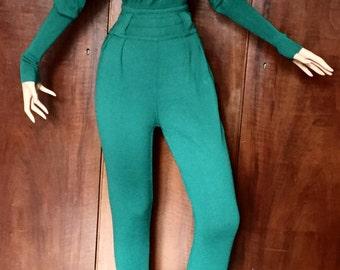 Azzedine Alaïa, avant garde knit trousers