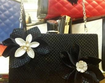 Black clutch, evening clutch, evening bag, clutches, clutch, womens clutch, accessories, clutch purse, clutch bag